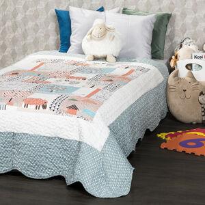 4Home Dětský přehoz na postel Animals , 140 x 200 cm