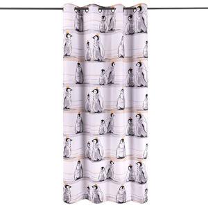 4Home Dětský závěs Tučňáci, 140 x 245 cm