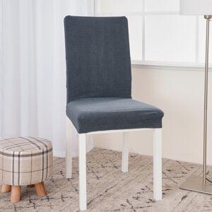 4Home Napínací voděodolný potah na židli Magic clean tmavě šedá, sada 2 ks