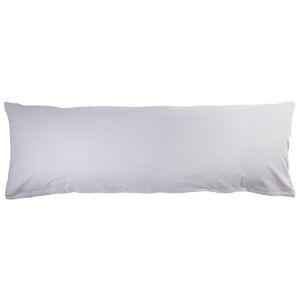 4Home Povlak na Relaxační polštář Náhradní manžel světle šedá, 55 x 180 cm