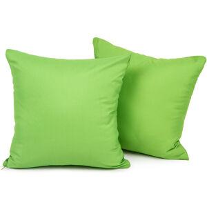 4Home Povlak na polštářek zelená, 2 ks 40 x 40 cm