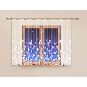 4Home Záclona Flowers rovná, 300 x 145 cm