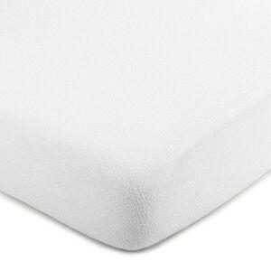 4Home froté prostěradlo bílá, 200 x 220 cm