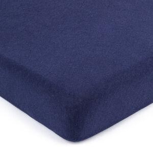 4Home jersey prostěradlo tmavě modrá , 160 x 200 cm