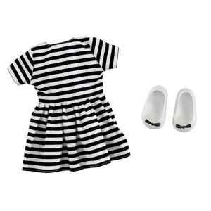 Addo B - Friends Obleček Pruhované šaty, 2 díly