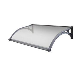 Aldo Dveřní vchodová LED stříška čirá, 100 x 150 cm