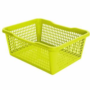 Aldo Plastový košík 41,9 x 32 x 16,8 cm, zelená