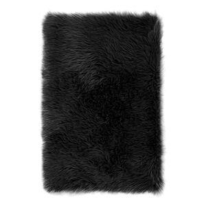AmeliaHome Kožešina Dokka černá, 60 x 90 cm