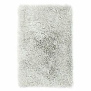 AmeliaHome Kožešina Dokka šedá, stříbrná, 50 x 150 cm