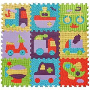 Baby Great Pěnové puzzle Barevná doprava SX (30x30)