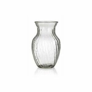 Banquet Skleněná váza Molla čirá, 20 cm