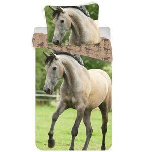 Bavlněné povlečení Kůň western, 140 x 200 cm, 70 x 90 cm