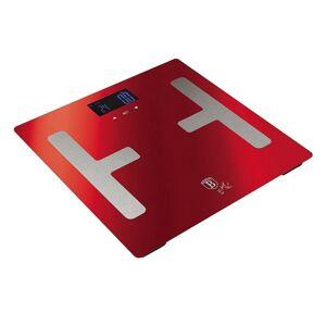 Berlinger Haus Osobní váha Smart s tělesnou analýzou Burgundy Metallic Line