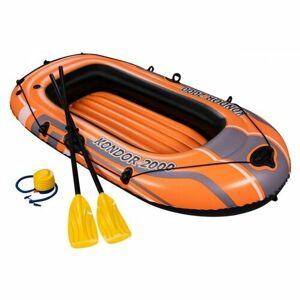 Bestway Nafukovací  člun s pádly a nafukovací pumpou, 197 x 115 cm