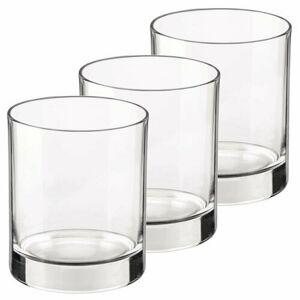 Bormioli Rocco 3dílná sada sklenic Cortina, 250 ml