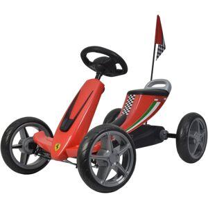 Buddy Toys BPT 2001 Šlapací kára Ferrari Go Kart, červená