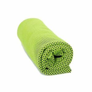 Chladící ručník zelená, 70 x 30 cm