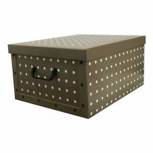 Compactor Skládací úložná krabice Rivoli, 50 x 40 x 25 cm