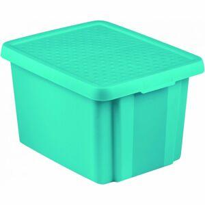 Curver Úložný box ESSENTIALS s víkem 26 l, modrá