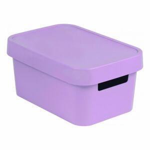 Curver Úložný box s víkem INFINITY 4,5 l, fialová