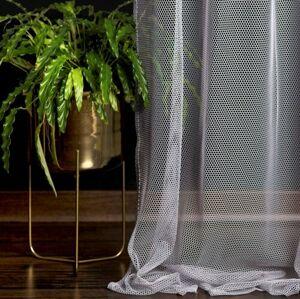 Decoking Záclona Elie šedá, 140 x 250 cm