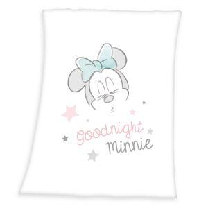 Deka Goodnight Minnie, 75 x 100 cm