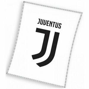 Deka Juventus bílá, 140 x 110 cm