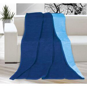 Deka Kira modrá/světle modrá, 150 x 200 cm
