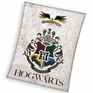 Dětská deka Harry Potter Famfrpál, 130 x 170 cm