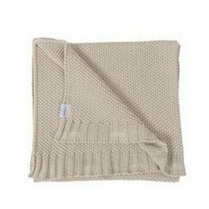 Dětská deka Tully béžová, 80 x 100 cm