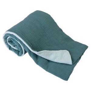 Dětská deka tyrkys/zelená, 75 x 100 cm