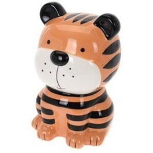 Dětská pokladnička Tygr, 18 x 10 cm