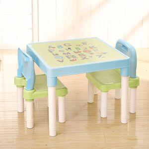 Dětská sada stolečku a židliček Balto 3 ks, modrá