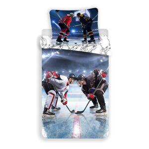 Dětské bavlněné povlečení Hokej, 140 x 200 cm, 70 x 90 cm