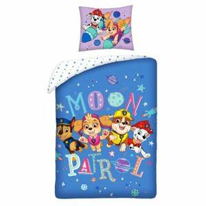 Herding Dětské bavlněné povlečení Paw Patrol Moon Patrol, 140 x 200 cm, 70 x 90 cm