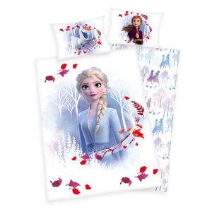 Dětské bavlněné povlečení do postýlky Frozen 2 Believe journey, 100 x 135 cm, 40 x 60 cm