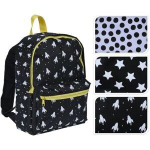 Dětský batoh Cosmic, hvězda, 22 x 32 cm