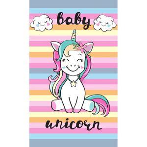 Dětský ručník Baby Unicorn, 30 x 50 cm