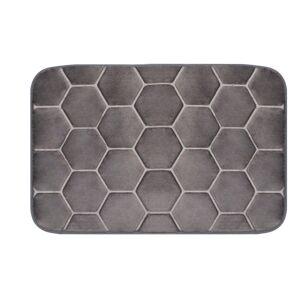 Domarex Kobereček z paměťové pěny Honeycomb,šedá, 38 x 58 cm