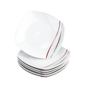 Domestic Sada dezertních talířů Amelie, 19 cm, 6 ks