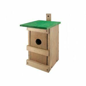Dřevěná ptačí budka Sýkorník Č.1, 25 x 14 x 14 cm