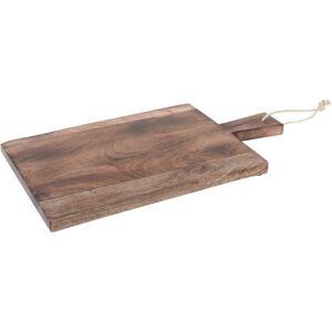 Dřevěné krájecí prkénko s úchytem, 45 x 25 x 4 cm