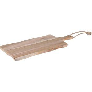 Dřevěné prkénko Teak, 49 x 29 x 1,5 cm