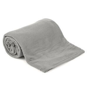Fleecová deka UNI šedá, 150 x 200 cm