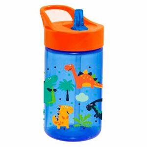 Florina Dětská plastová láhev Dino, 430 ml