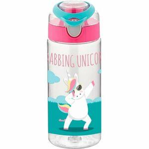 Florina Dětská plastová láhev Unicorn, 500 ml