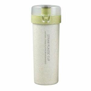 Florina ECO Plastová láhev 400 ml, zelená