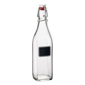 Florina Skleněná láhev s clip uzávěrem Swing, 500 ml