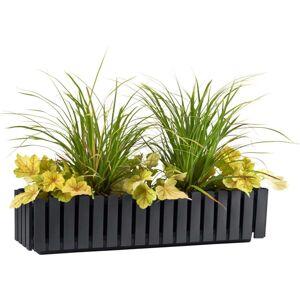 Gardenico Truhlík Fency antracit, 75 cm