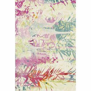 Habitat Kusový koberec Bonita plants 280/56 růžová, 120 x 170 cm